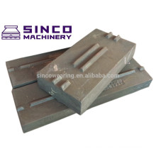 High Chromium 26 % casting steel blow bar for Impact crusher spare parts