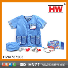 Hot selling children playing pretend toy doctor set toy children doctor dress