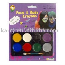 palos de pintura de cara de copa del mundo, pintura corporal