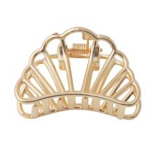 Ladies metallic pearl hair pin headpiece