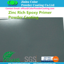 Dark Grey Zinc Rich Epoxy Primer Powder Paint