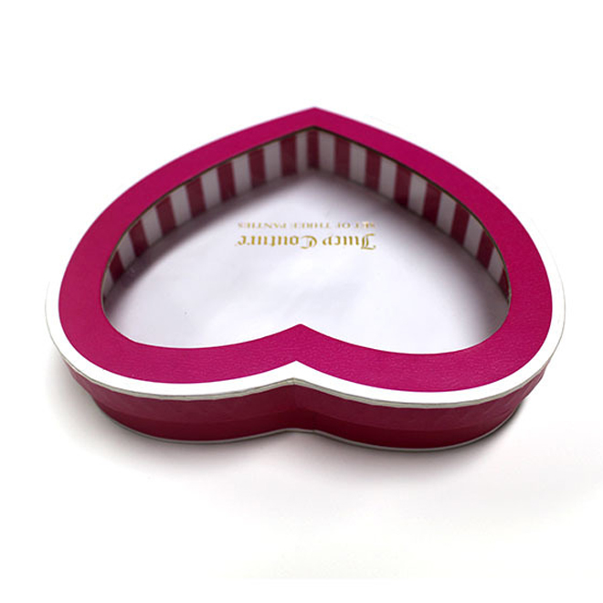 Heart Shape Rigid Packaging Box