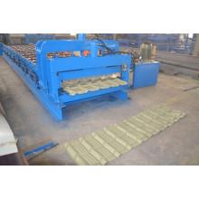 Máquina formadora de rolo fria com telhado de azulejo