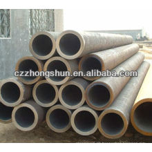 Tubo de acero sin costura de carbono ASTM A106 / ASTM A 53 / GrB / Q235 / SS400