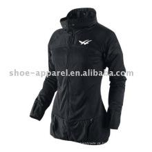 Jaqueta de treinamento de mulheres jaqueta de trilha