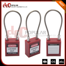 Elecpopular New Arrival Product Small Cable Wire Lock Famous Brands With OEM Normal Key