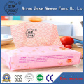 Cross Lapping Viscose Polyester Spunlace Nonwoven Fabric for Wet Wipes, Tissue, Face Masks