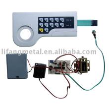 Safe combination lock parts