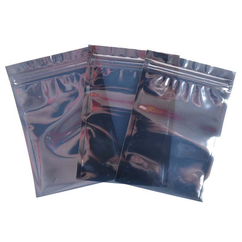 Flat-mouth anti-static moisture-proof bag
