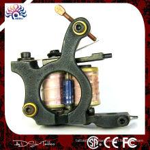 Máquina de tatuaje hecha a mano del trazador de líneas de la bobina del alambre de cobre amarillo profesional