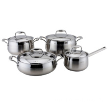 TP1458 New Belly Shape Stainless Steel Cookware