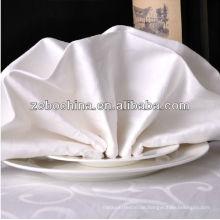 Direkte Fabrik hergestellt verschiedene Farben vorhandene Luxuxgroßverkaufbaumwolltisch-Tuch-Serviette