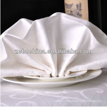 Direct factory made different colors available luxury wholesale cotton table cloth napkin