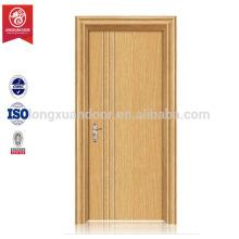 PVC beschichtete MDF Holzbündige Tür