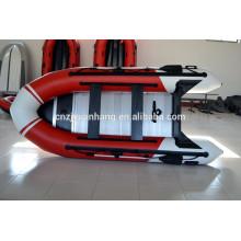 2015 CE approuvé fortement taxées Portable PVC tissu dériveur canot pneumatique Chine