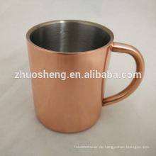 täglich muss Hersteller Becher Kupfer