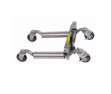12 Inch Hydraulic Vehicle Positioning Jack With Steel Roller