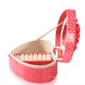 Новая мода розовый кожаный ювелирных изделий Коробка кольца (ЖБ-СГ-В2)