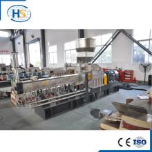 Tse-65 Wood Plastic Composites Pelletizer para el llenado de masterbatch