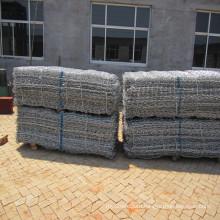 China Factory Galvanized/PVC Coated Gabion Basket