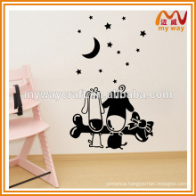 Korean latest series of lovely wall sticker,fashion decoration sticker for kids