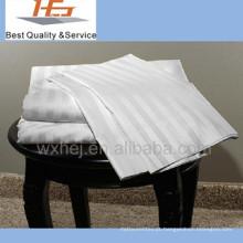 Preço de fábrica de tecido de algodão listrado para lençóis de cama
