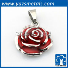 customize design pendant, custom made valentines day rose pendant