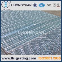 Des barres en acier galvanisé clôtures en caillebotis