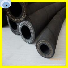 El alambre de manguera de goma de abrasión de alta presión R13 refuerza la manguera hidráulica