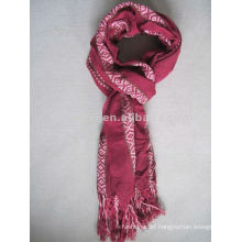 Polyester yarn-dyed initial scarf men