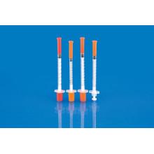Медицинский Инсулиновый шприц (0,3 мл 0,5 мл 1 мл)