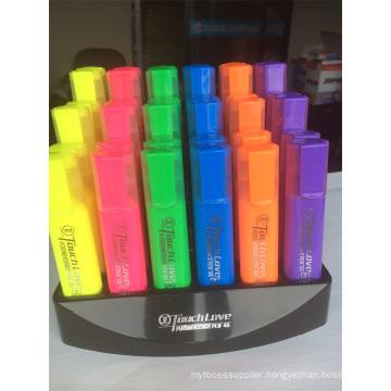 En-71 6 Colors Display Box Highlighter Pen
