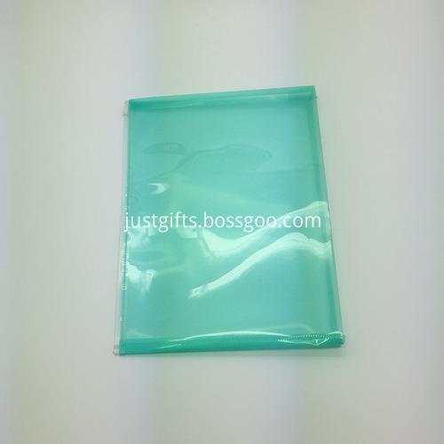 Promotional Plastic Zipper File Folder