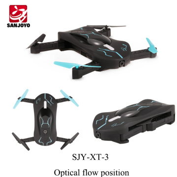 Le plus nouveau 720 P HD caméra selfie drone gravité capteur hauteur ensemble drone pliable voiture forme quadcopter 3D flip PK Eachine E52
