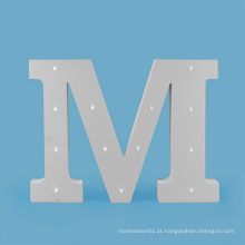 Carta grande do diodo emissor de luz do MDF para a decoração do feriado