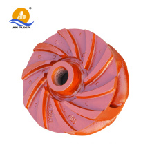 rubber slurry pump impeller, fan, OEM is available