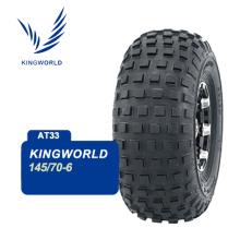 4x4 tubeless atv tires 145/70-6