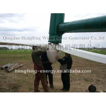 20KW vento turbina gerador ímã permanente movimentação direta, sem caixa de velocidades, usada para a indústria, fazenda, ilha