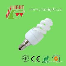 Mini espiral completo T2 de 5W CFL iluminação de poupança de energia