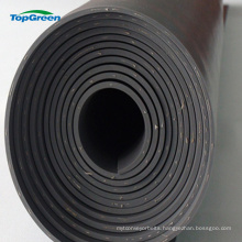 black Smooth surface Nylon Fabric reinforced rubber sheet