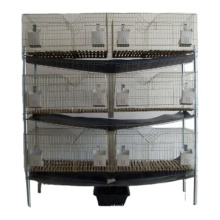 indoor folding commercial rabbit breed lapin farm cage with assembled shelf for home use
