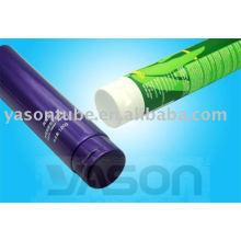 Tubo plástico especial de la crema dental