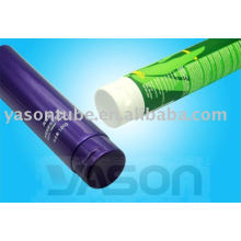 with screw cap or flip top cap of round tube