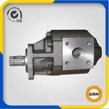 Pompe à huile à engrenage hydraulique haute pression de rechange pour camion à benne basculante