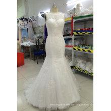 Aoliweiya настроить свадебные платья с sheer декольте