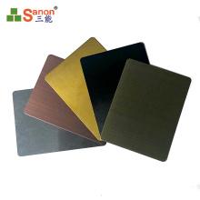 Foshan factory stainless steel decorative color sheet satin &mirror &golden sheet