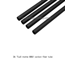 round square carbon fiber rectangular tube pipe