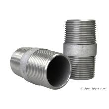 Stahlrohrnippel verzinkte Fittings