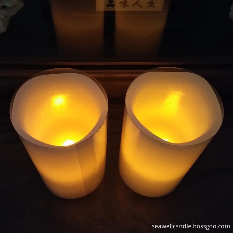 Led Pillar Candle Light