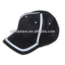 Mode atmungsaktive Baumwolle hoch viz reflektierende Mütze